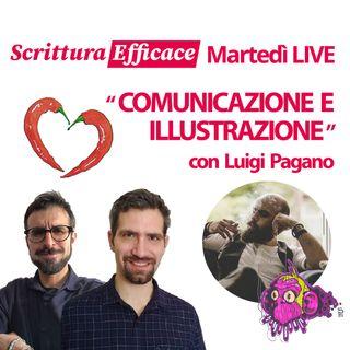 Comunicazione e illustrazione con Luigi Pagano