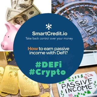 How to earn passive income with DeFi?