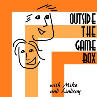 Outside the Game Box's tracks