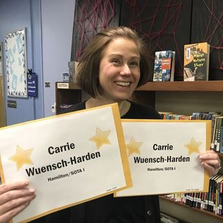 LPEF Gold Star Educators Podcast Series, Carrie Wuensch-Harden