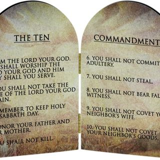The Ten Commandments: God's Gift
