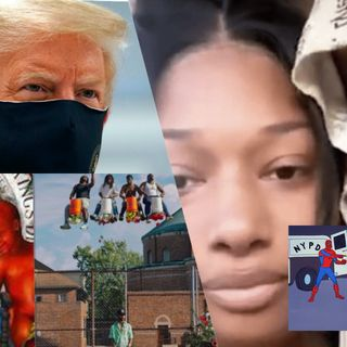 Tory Shooting Megan a Publicity Stunt?, DAYSTAR Review, Trump Has Covid?, Album of The Year So Far