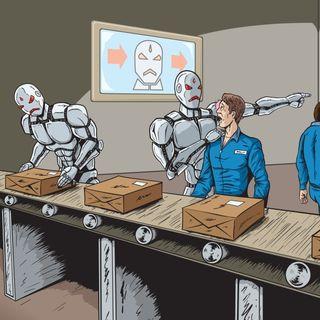 i Robot ci rubano il lavorooo
