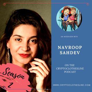 Navroop Sahdev On Crypto Clothesline