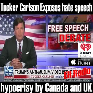 Morning Moment Tucker Carlson Exposes hate speech is FREE SPEECH Dec 5 2017