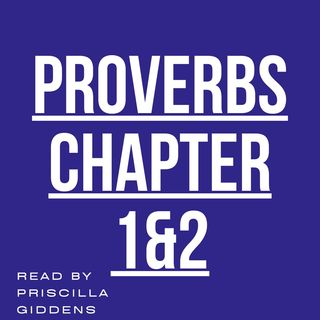 Proverbs Chapters 1-2 read by Priscilla Giddens