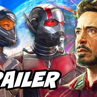Ant Man and The Wasp Trailer and Avengers Easter Eggs Breakdown