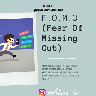 Episode 1 | F•O•M•O (Fear Of Missing Out)