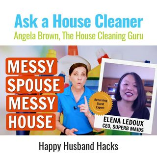 Messy Spouse Messy House with Elena Ledoux, CEO of Superb Maids