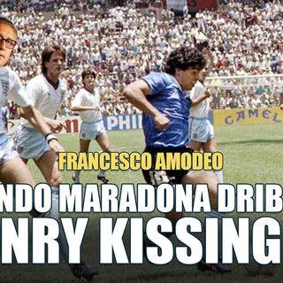 Francesco Amodeo Kissinger provò senza successo a piegare Maradona