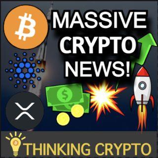 Bitcoin, Cardano ADA, & XRP Pump! Infrastructure Bill Crypto Update & SEC Ripple Settlement in September?