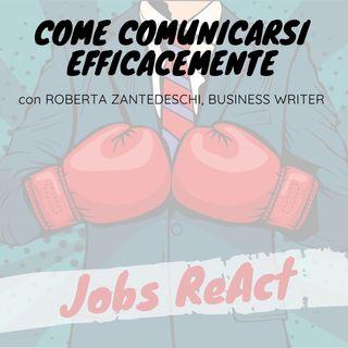 JR 03 | Come comunicarsi efficacemente - con Roberta Zantedeschi