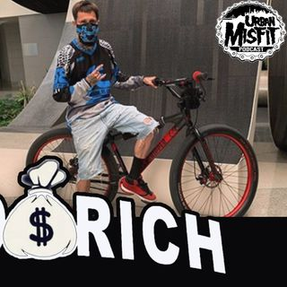 Urban Misfit LIVE | Mike aka @hoodrichbikelife First time in Cali, first city to ride, Sacramento!