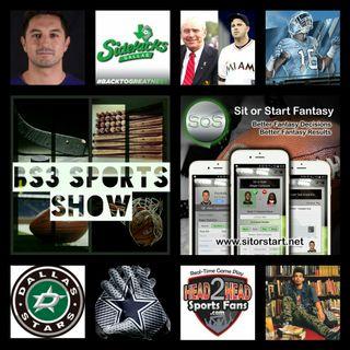 BS3 Sports Show 10.1.16 (Sponsors @H2HSportsFans @SitOrStartApp)