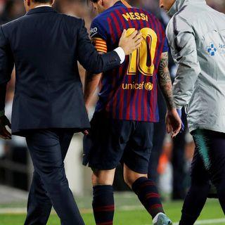 El adios de Messi