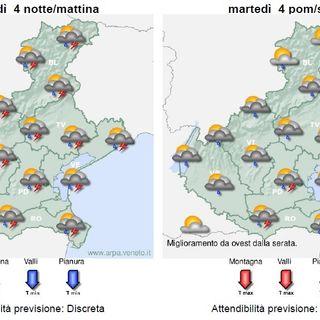Previsioni meteo 4-6 agosto: instabilità ma poi temperature in salita