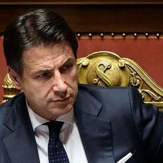"""Conte: """"Importante la decisione di Renzi di sostenere il governo"""""""