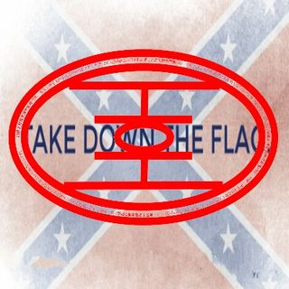 Down Goes the Confederate Flag
