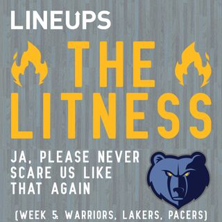 Ja, Please Never Scare Us Like That Again (Week 5: Warriors, Lakers, Pacers)