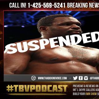 ☎️WBC Suspends Whyte Interim Title & Mandatory Shot At Wilder🤯After Failed PED Test💉