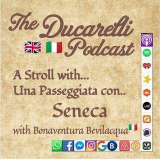 A Stroll with Seneca Passeggiata con Seneca with Bonaventura Bevilacqua