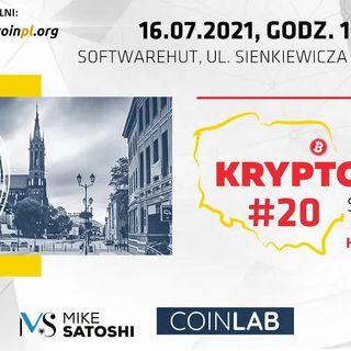 Tomasz Kowalczyk (CryptoDev) i Patryk Kempiński (Krypto Raport) -relacja ze spotkania Kryptostok #20