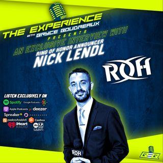 ROH Announcer Nick Lendl