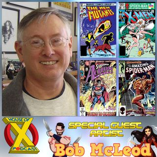 Episode 48 - Interview with Artist Bob McLeod