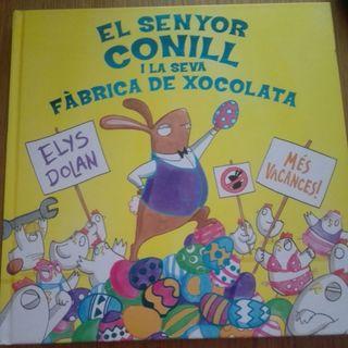 Hora del cuento: El senyor conill i la seva fàbrica de xocolata