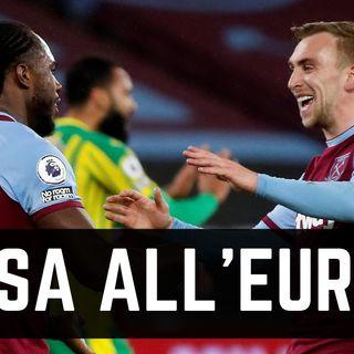 Il West Ham non smette di stupire. Europa nel mirino?