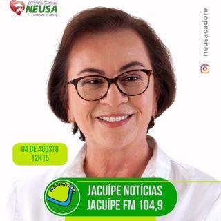 Spot - Entrevista na Rádio Jacuípe FM em 4 de agosto de 2021 às 12h15