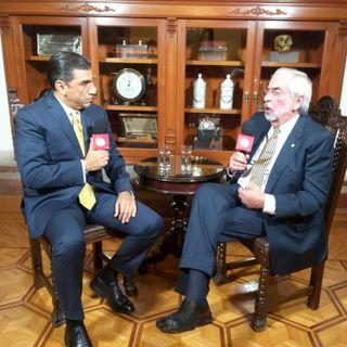 Enrique Graue, Rector de la UNAM, en entrevista con Alejandro Villalvazo