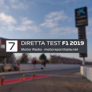 Diretta Test Barcellona 2019, Giorno 7