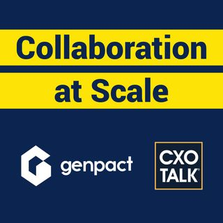 Collaboration at Scale with Sanjay Srivastava, CDO, Genpact