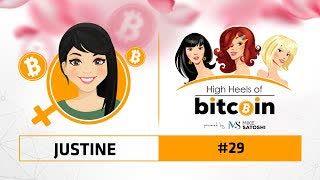 High Heels of Bitcoin #29 | Justine (@ThemeanJustine)