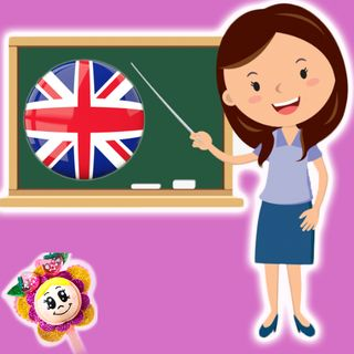 14. Miss english pitinglis. Cuento infantil con Hada de Fresa de Blancanieves para aprender ingles con Brownie y Fresi