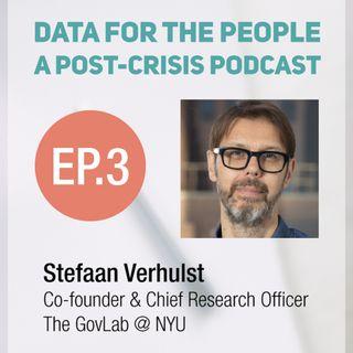 Stefaan Verhulst - Co-founder of NYU's GovLab