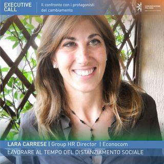 Lara Carrese | Econocom | Lavorare al tempo del distanziamento sociale