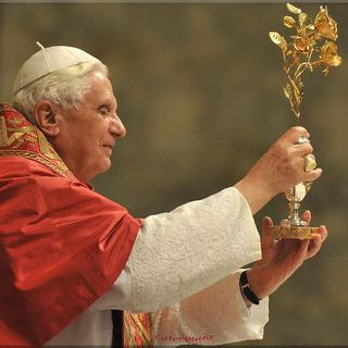 Supplica alla Madonna di Pompei con Benedetto XVI