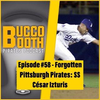Forgotten Pittsburgh Pirates: SS César Izturis