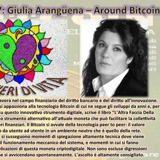 Ep.56 Giulia Arangüena - Around Bitcoin