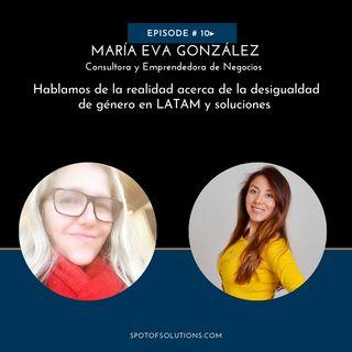 María Eva Gonzáles - La Siguiente Generación de Mujeres Power E10