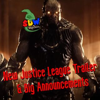 New Justice League Trailer  & Big Announcements