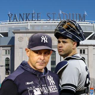 Aaron Boone y Gary Sanchez siguen con los Yankees en el 2021