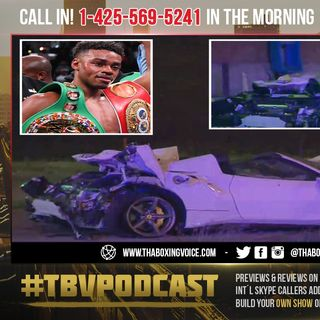 ☎️Errol Spence Jr. Crashed and Rolled Over😱 in His Ferrari 'in Serious Condition' 🙏🏽
