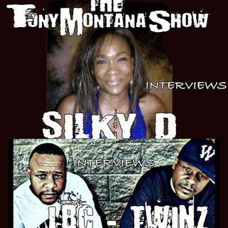 The Tony Montana Show w/Angel, Carmilla, & DJ Laggz 4/15/19 *DJ Silky D & The Twinz*