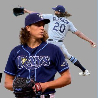 Tyler Glasnow responsabiliza a MLB de lesionarse por no usar SUSTANCIAS PEGAJOSAS