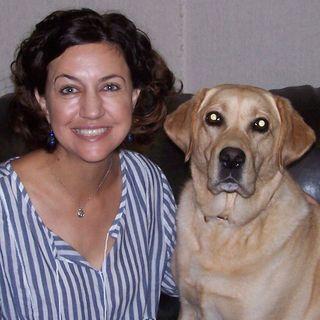 Kicking off Highland Lakes Volunteer Meetup week with Mabel the Wonderdog