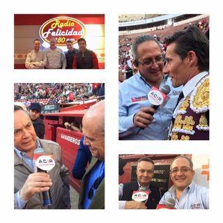 Entrevista con Sergio Flores, Diego García, Diego Silveti y más en Fiesta Brava Domingo 02 de Diciembre 2018