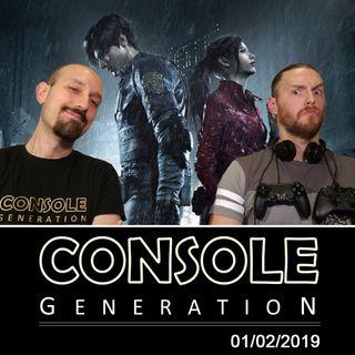 Resident Evil 2, anteprima Anthem e altro! - CG Live 01/02/2019